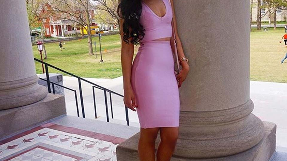 ONYC Beauty Amy Rocks Light Relaxed Perm Pink Outfit