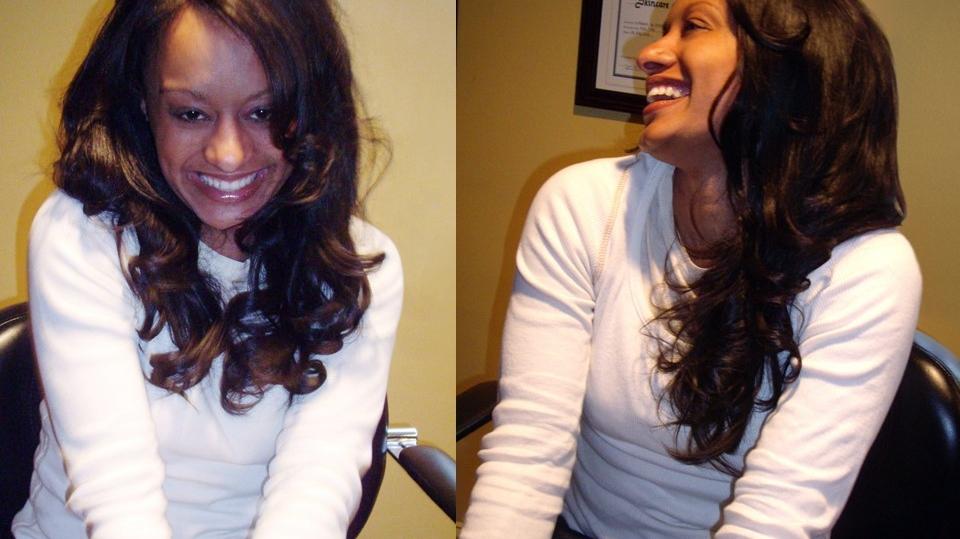 Beach Wave Hair Review Sandra Wearing Beach Wavy Featured