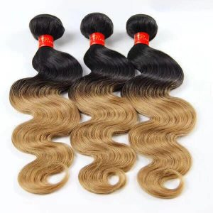 Sassy Remy Ombre Body Wave Weave 1B And 27