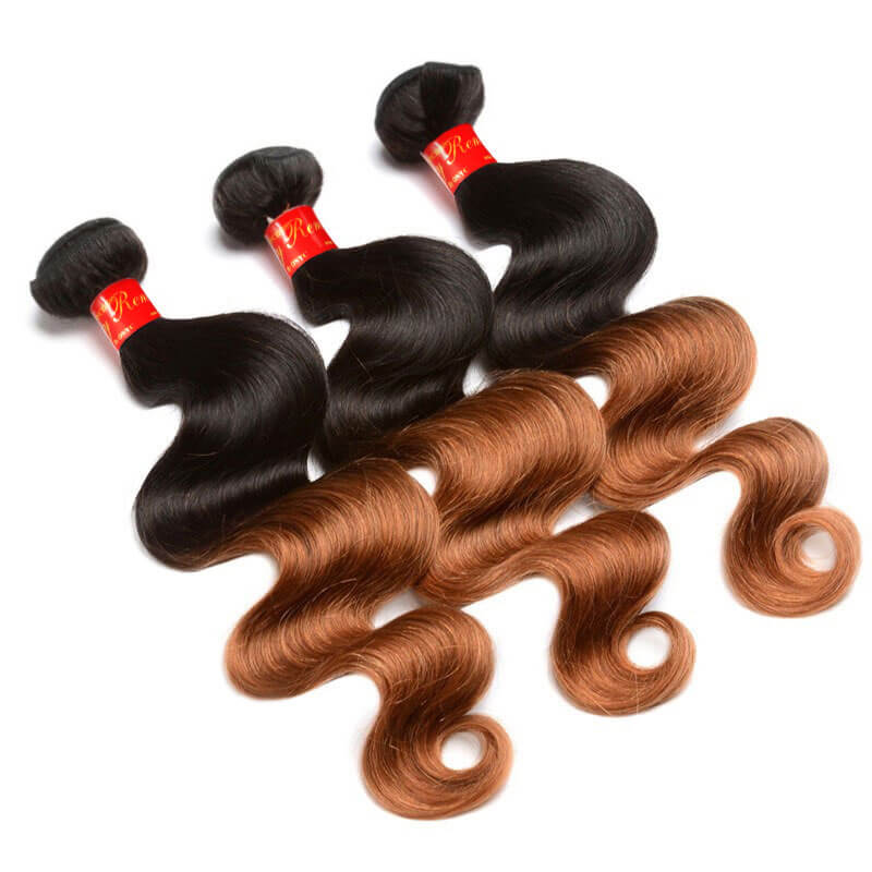 Sassy Remy Ombre Body Wave Weave 1B And 6 3