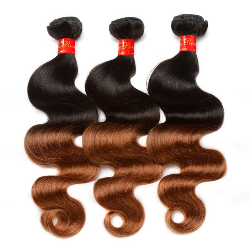 Sassy Remy Ombre Body Wave Weave 1B And 6 4
