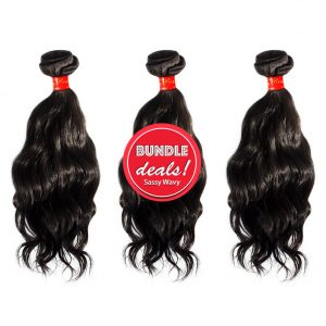 Remy Wavy Hair Bundle Deals Sassy Remy™ Wavy Hair Virgin Remy Wavy Bundle Deal