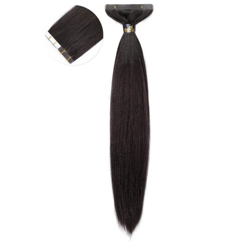 Straight Tape Hair Extensions ONYC Light Relaxed
