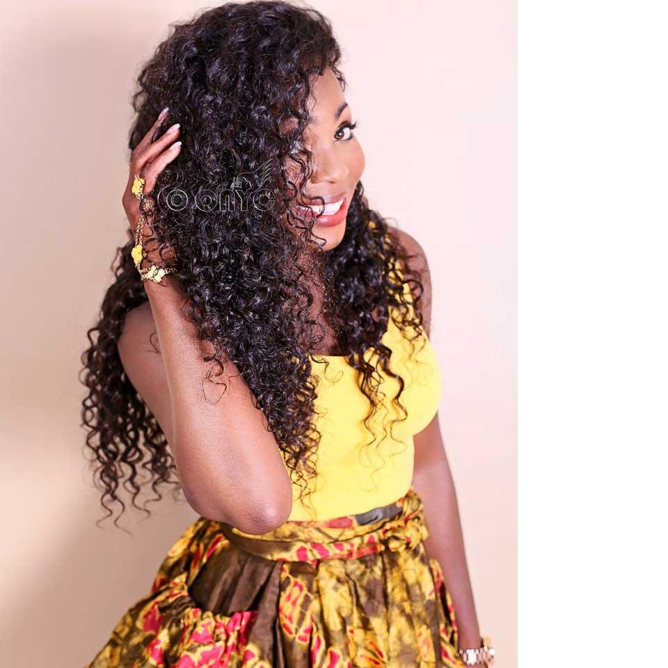 Thelma Okoro ONYC CEO In Curly Addiction 3B Deep Curly Hair