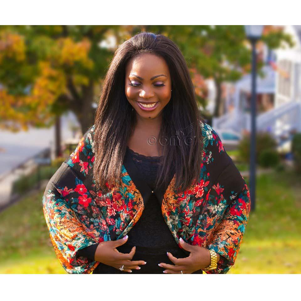 Thelma Okoro Spring Look Kinky Straight