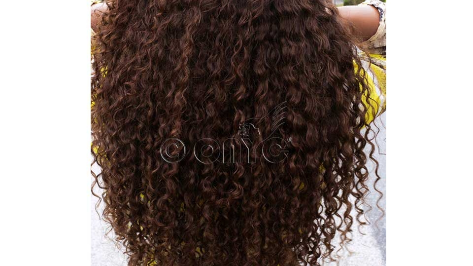 Thelma Okoro In Curly Addiction Color 4 And Color 2 Back View