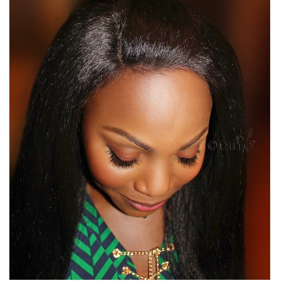 Thelma Okoro In ONYC Fro Out Natural Frontal Closures Piece