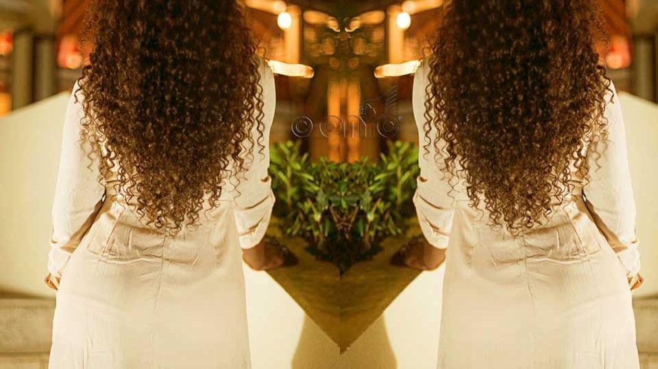 Thelma Okoro Wearing Curly Addiction 3B Hair In British Virgin Islands