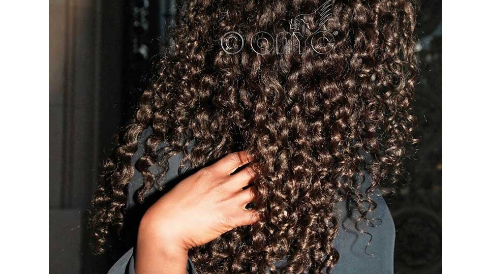 Thelma Okoro Wearing Curly Addiction 3B Beautiful Perfect Hair In Paris