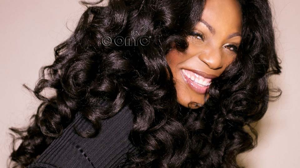 Thelma Okoro With ONYC Kinky Straight Hair Style