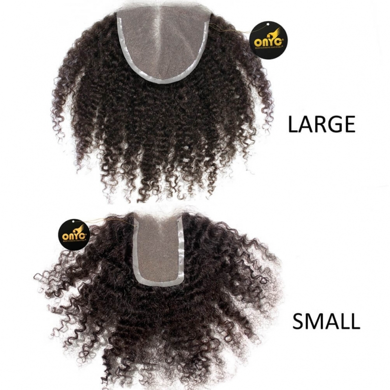 Tight Kinky 3c4a Frontal Closure Small And Large