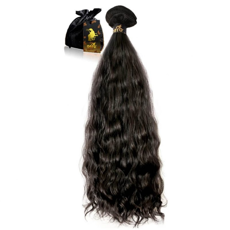 Virgin Wavy Hair Extensions ONYC Body 2 Wavy