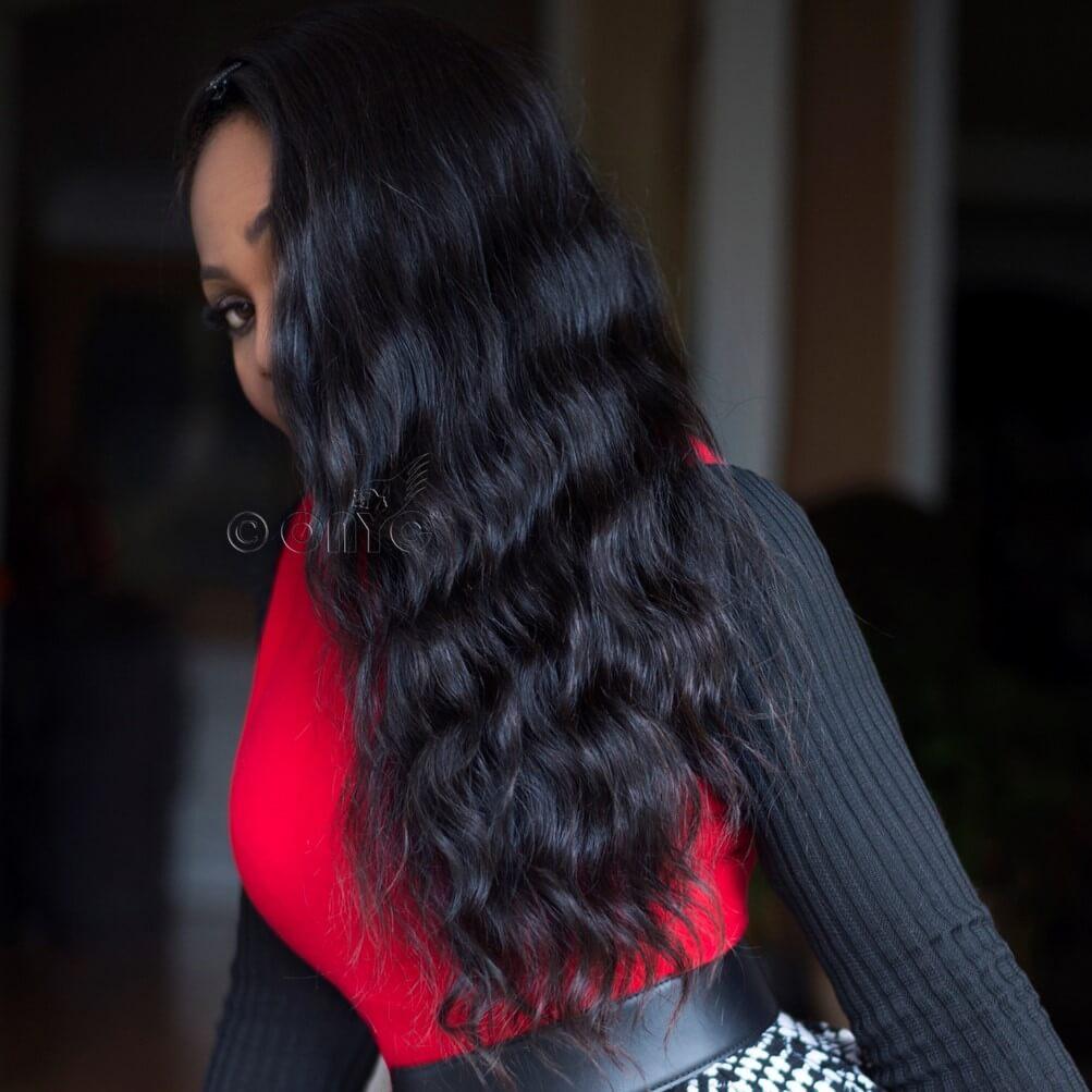 Virgin Wavy Hair Extensions ONYC Body 2 Wavy Virgin Wavy Hair Extensions