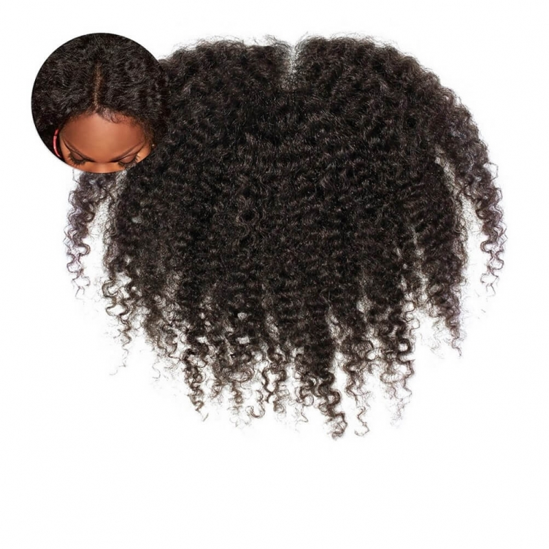 Afro Tight Kinky Curly 3c4a Frontal Closure Onyc Hair