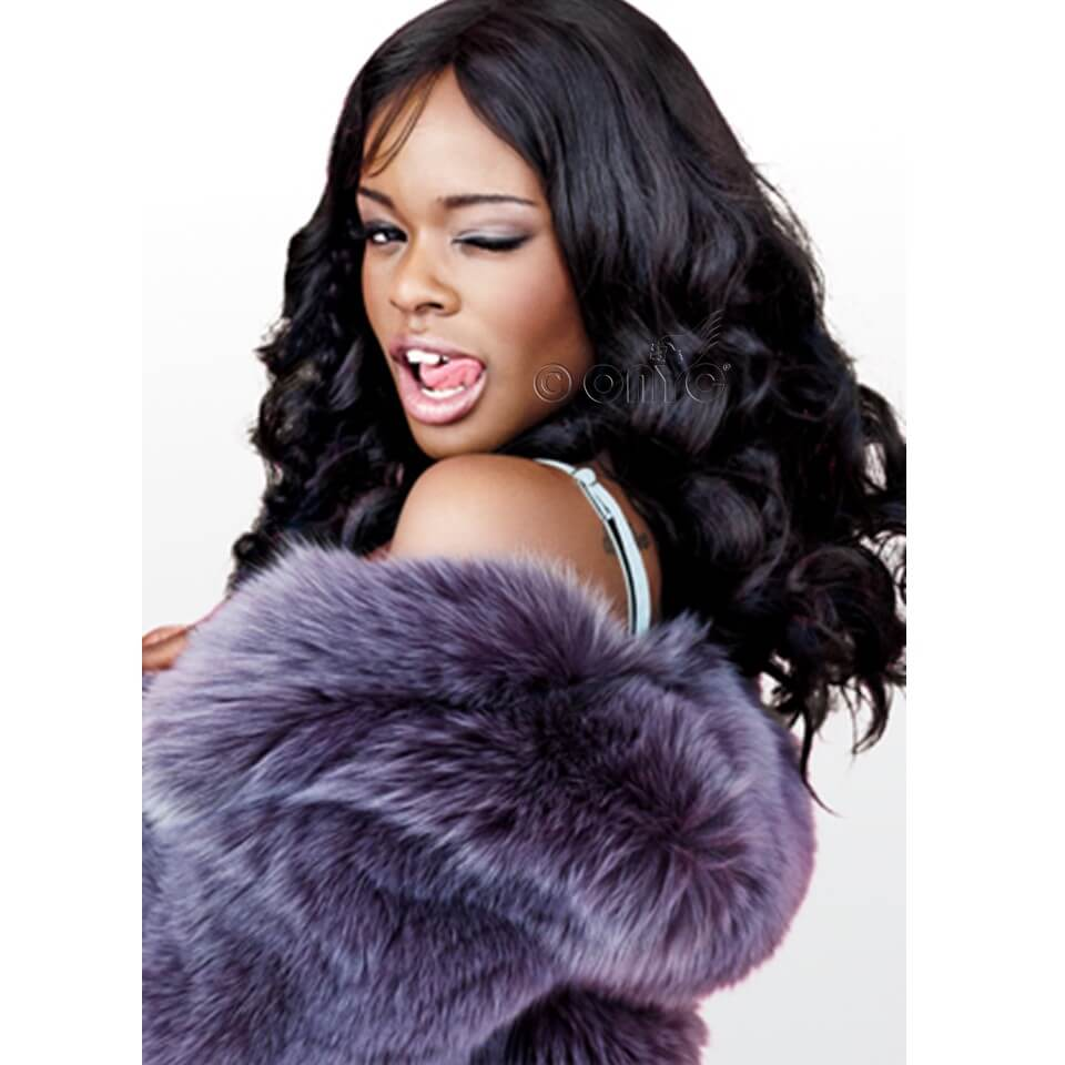 Azealia Banks With ONYC Hair Wavy Hair