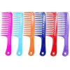 Jumbo Wide Tooth Comb Colorful Detangler Hair CombWet Detangling with a brush