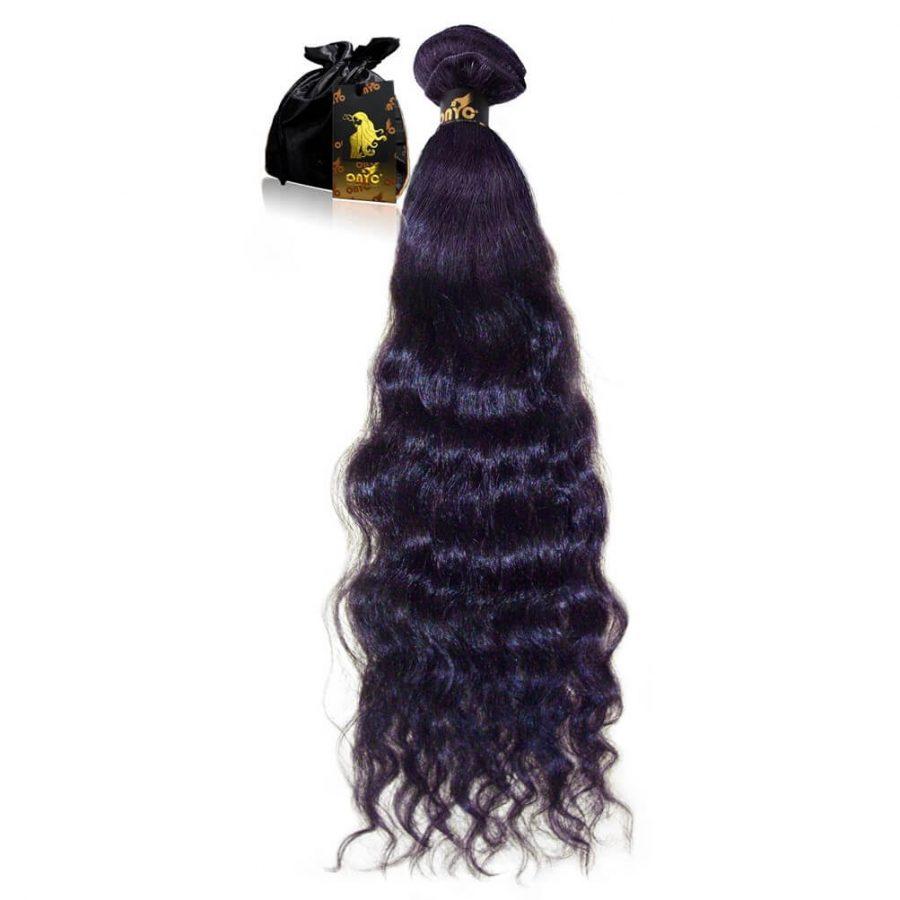 virgin indian wavy hair Extension Indian Wavy 2b 2c Machine Weft Onyc Hair Weft-Gorgeous Wavy 2B-2C