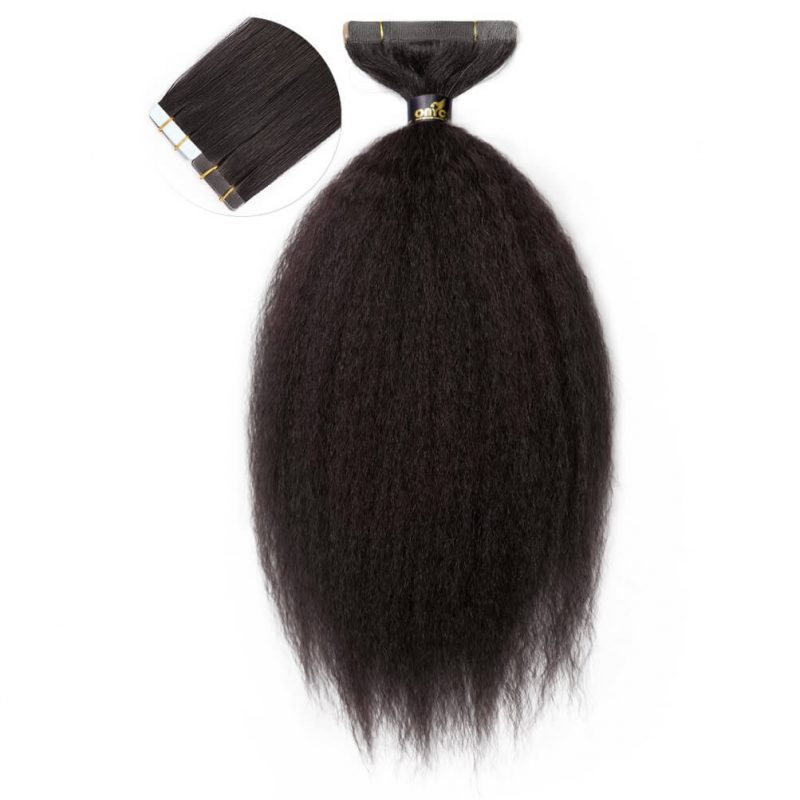 Onyc Fro Out Kinky Straight Tape Hair Extensions