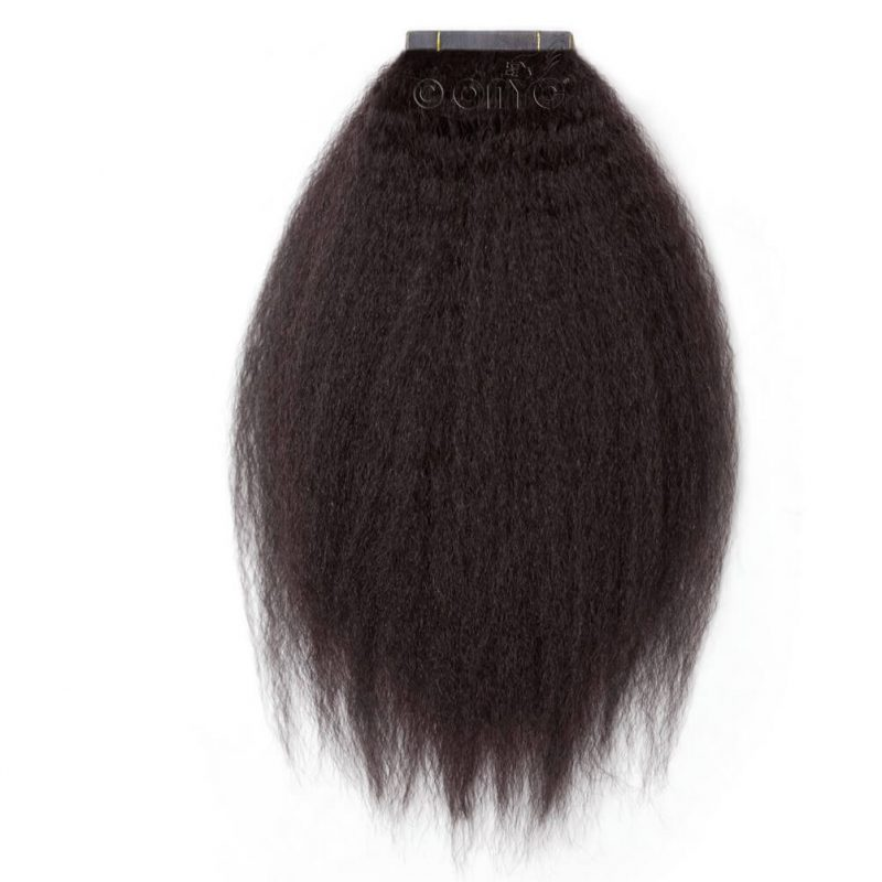 Onyc Fro Out Kinky Straight Tape Hair Extensions2