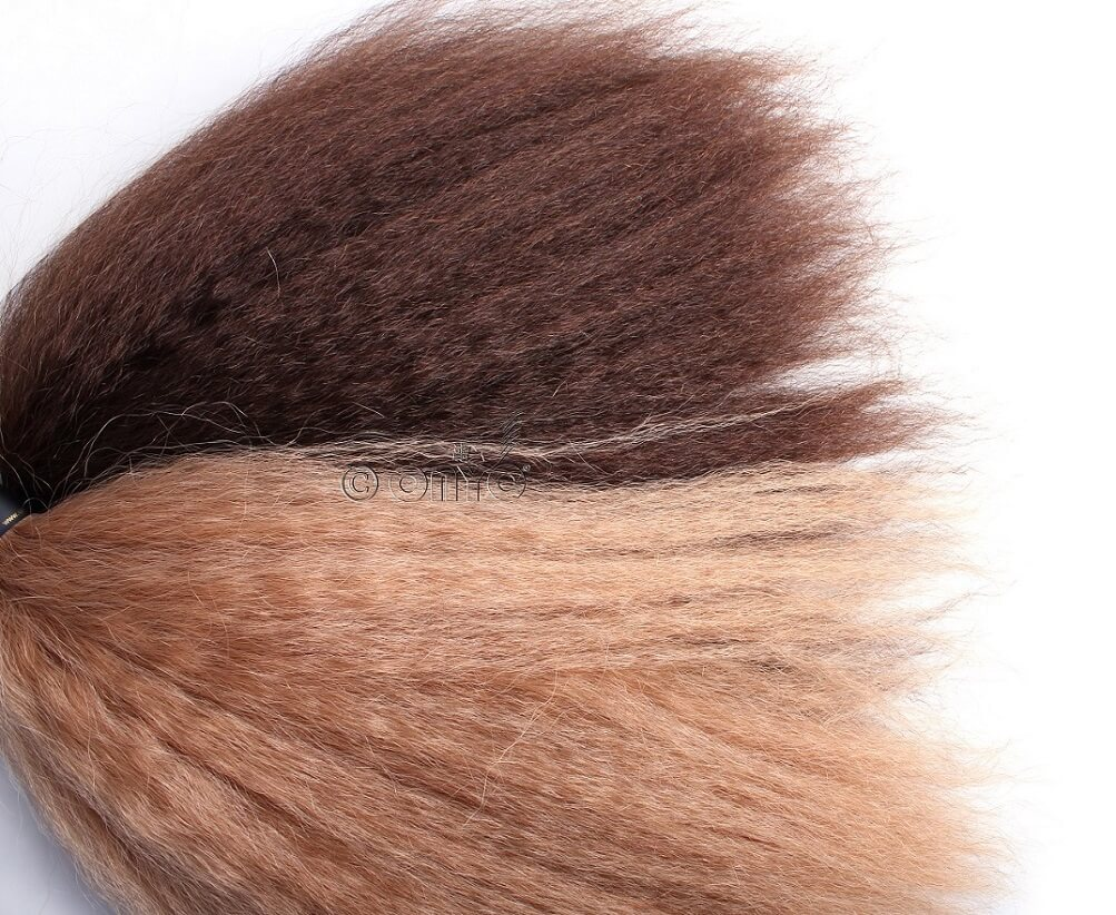 Onyc Fro Out Kinky Straight Golden Collection colored Kinky Straight weave