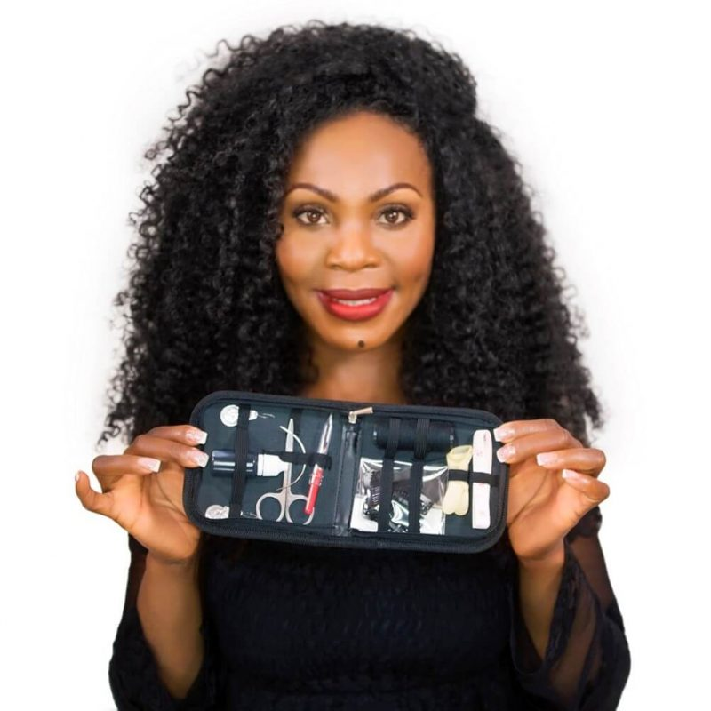 Onyc Hair Ceo With Clipin Hair Extension Kit